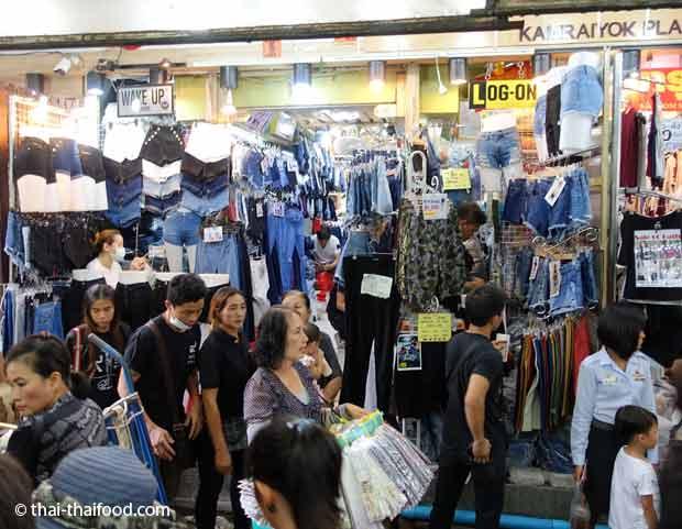 Jeans Shop Pratunam Markt