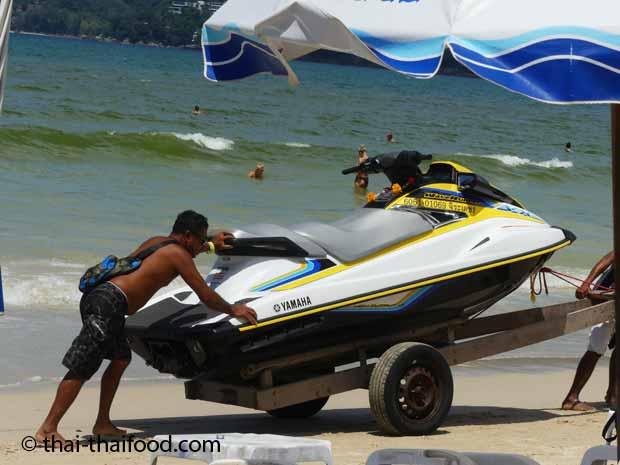 Jetskis Patong Beach