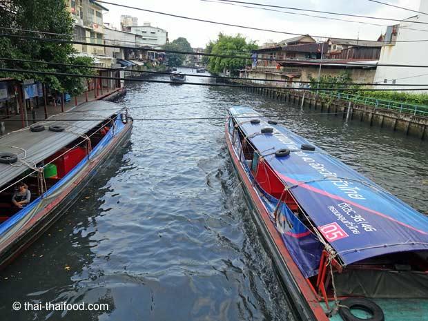 Kanalboote Bangkok
