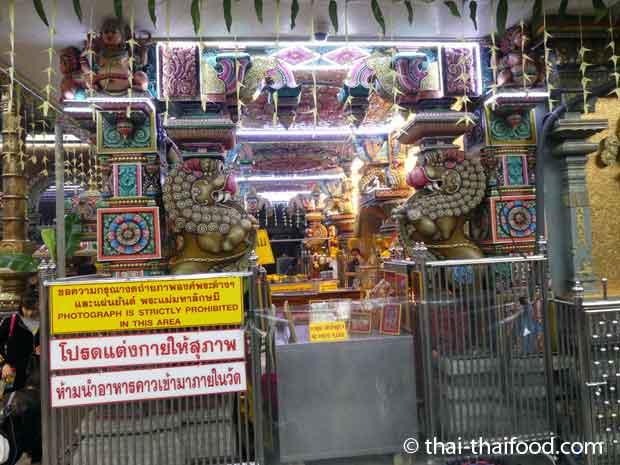 Tempel Kasse zum Kauf von Opfergaben