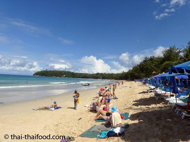Karon Beach Hotels Direkt Strand