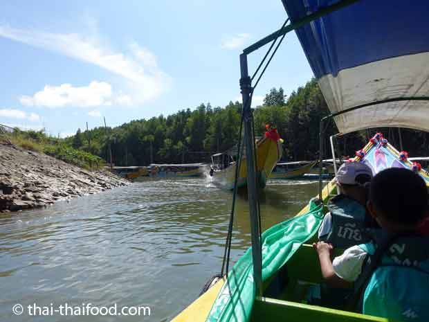 Meeresarm Khao Tok Nam mit Longtailboot