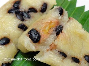Klebreis im Bananenblatt