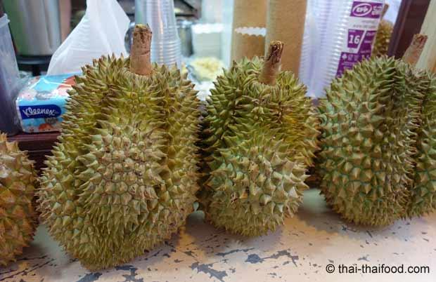 Kleine Durian Frucht