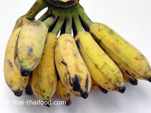 Kluai Namwa Bananen aus Thailand