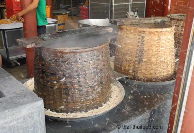 Kochender Palmzuckersaft