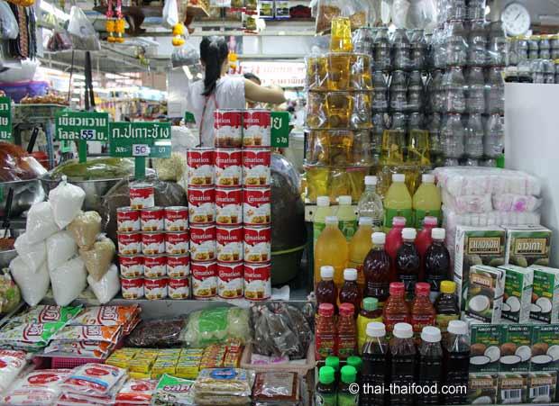 Zutaten für die Thai Küche