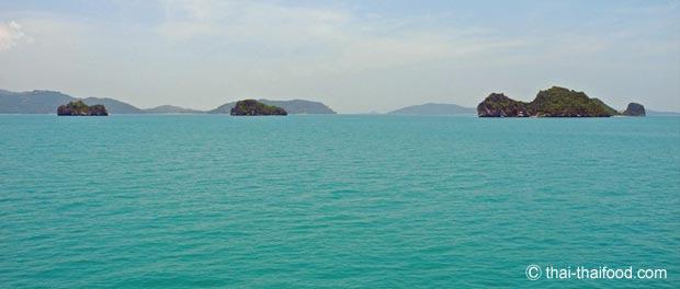 Inseln des Koh Samui Archipel