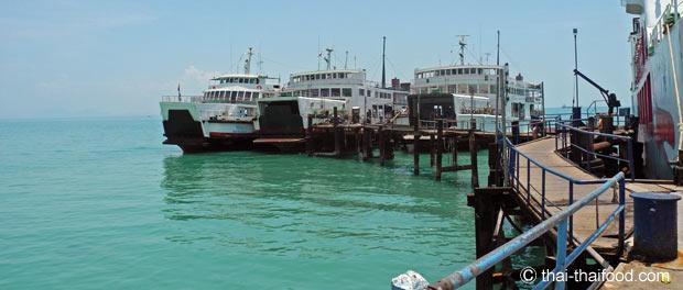 Golf von Thailand Fähren