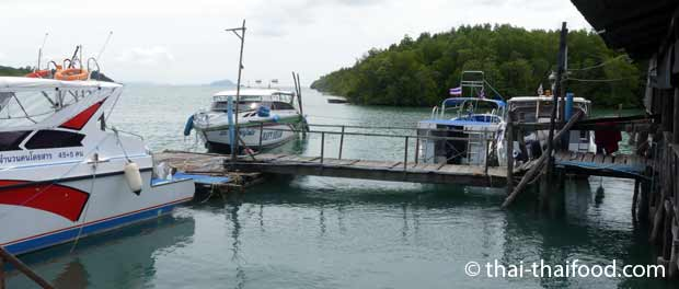 Speedboote zu den Koh Yao Inseln