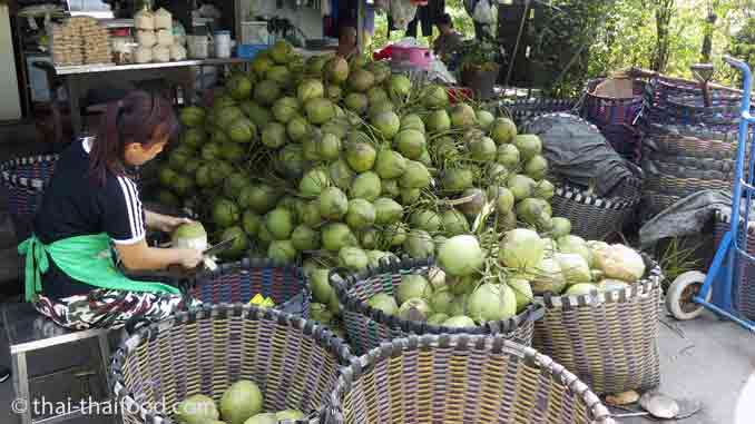 Kokosnusswasser Verkauf