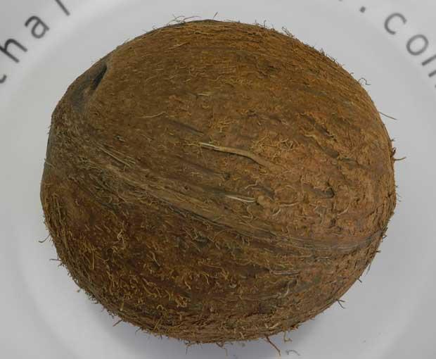 harte Kokosnuss