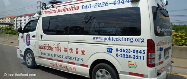 Thailändischer Krankentransport