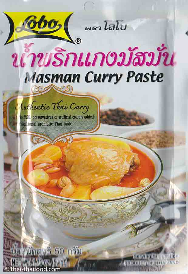 Masman Curry Paste von Lobo
