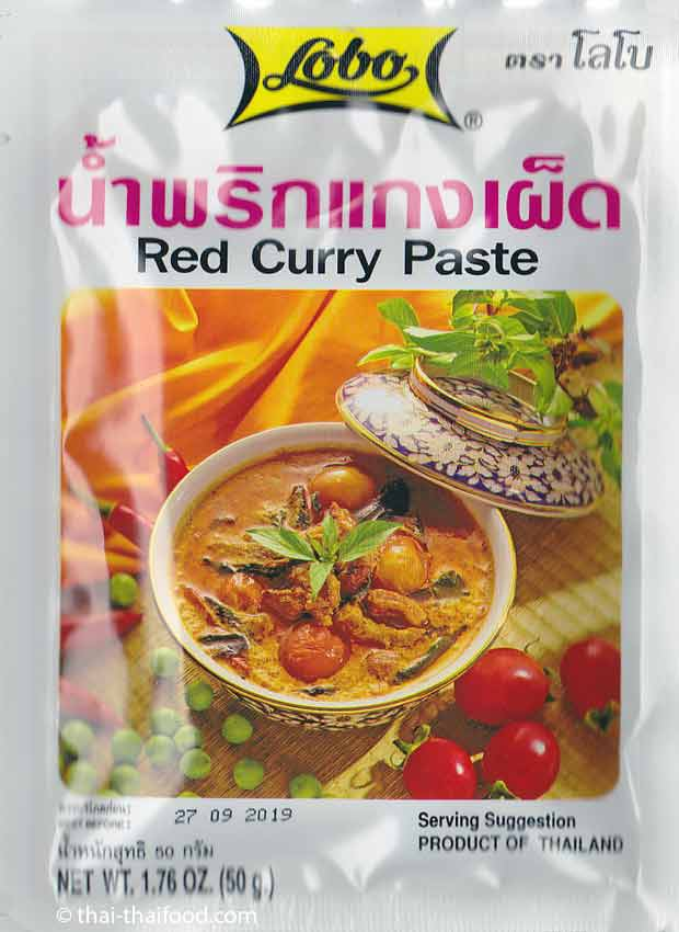Red Curry Paste von Lobo