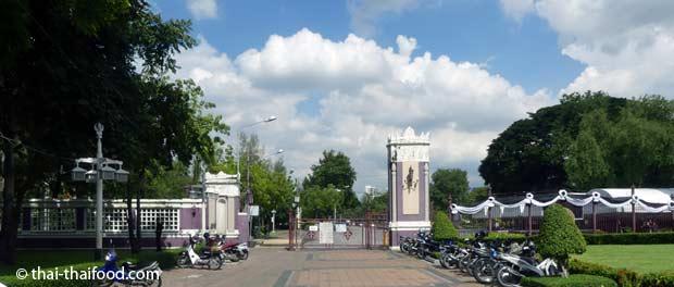 Lumpini Park Eingang