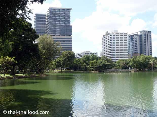 Lumphini See im Lumpini Park