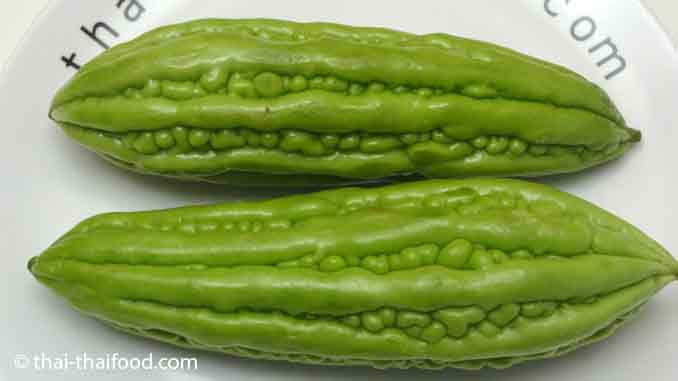 Chinesische Bittermelone ist ein Chinesisches Gemüse