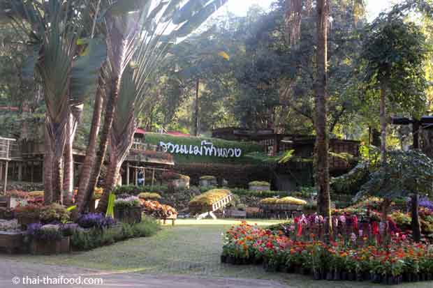 Mae Fah Luang Garten