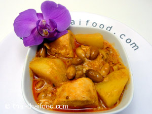 Eine Portion Massaman Curry