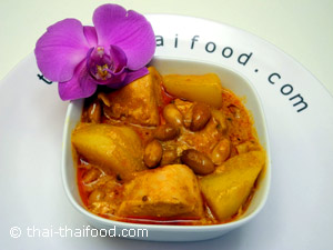 Chicken Massaman Curry essen