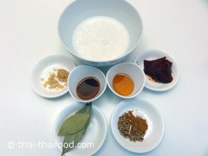 Zutaten Massaman Curry Rezept