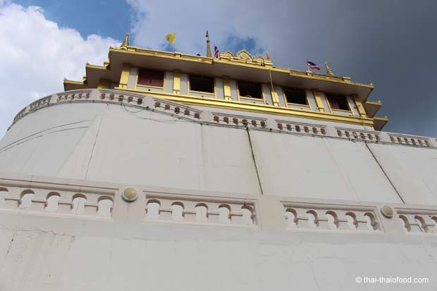 Wat Saket Tempelmauer