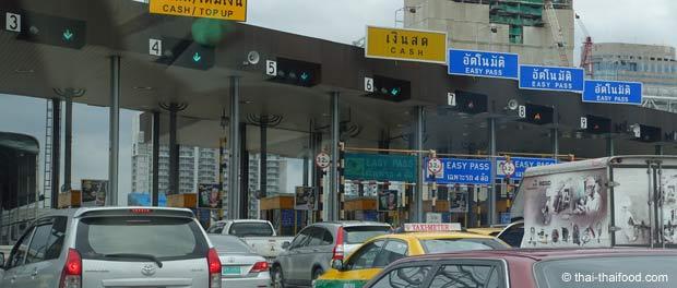 Expressway Mautstelle Thailand