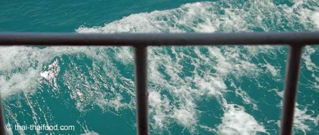 Das Meer um die Insel Koh Samui