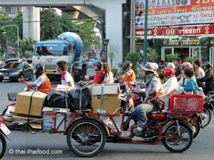 Transport Moped in Thailand