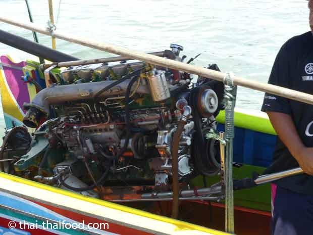 Longtailboot Motor