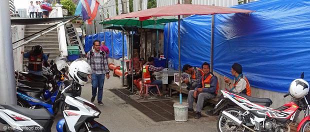 Station Motorradtaxi Thailand
