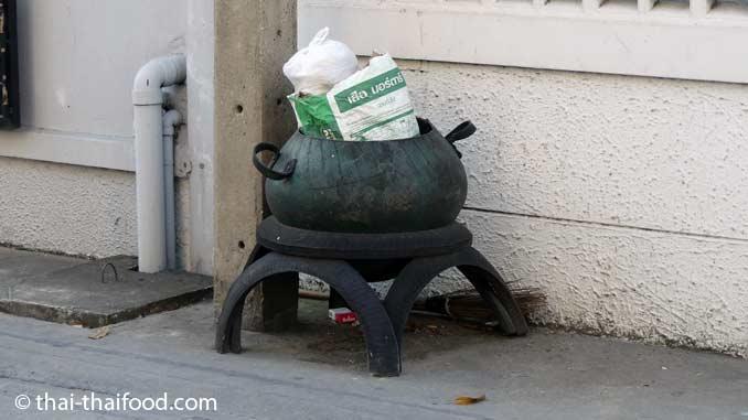 Mülltonne Bangkok
