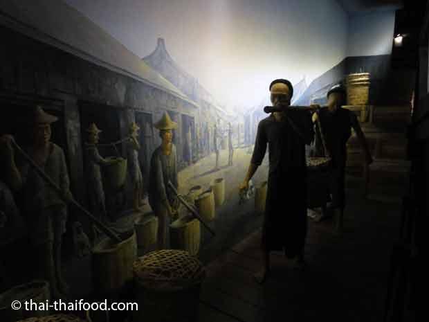 Darstellung im Yaowarat Chinatown Heritage Center