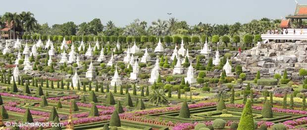 Nong Nooch botanischer Garten bei Pattaya