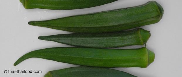 Gemüse Eibisch
