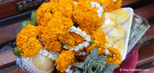 Opfer für die Gottheit Brahma