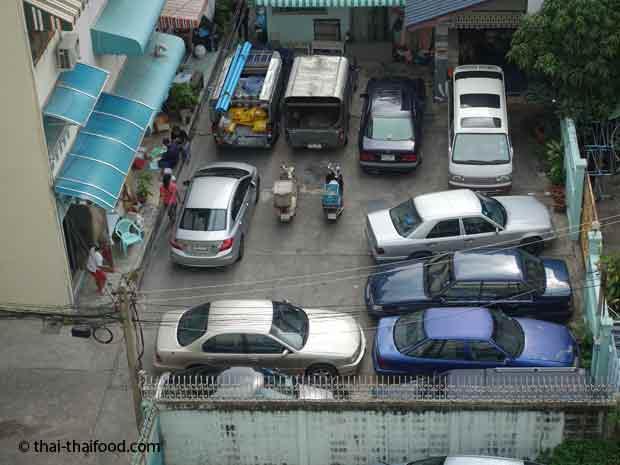 Parkplatznot in Bangkok