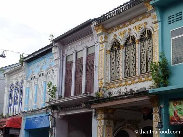 Phuket City Hausfassade