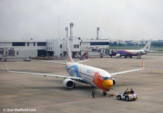 Flugzeugschlepper Don Mueang