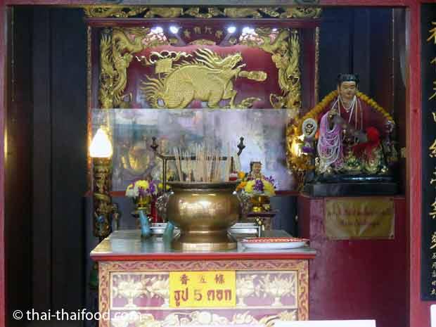 Räucherstäbchen für die chinesische Göttin der Bamherzigkeit
