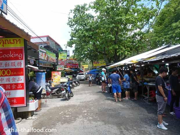 Fischmarkt und Restaurants