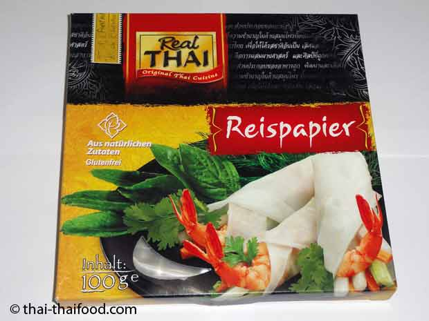 Real Thai Reispapier
