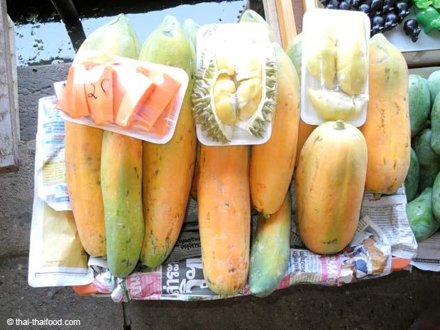 Reife Papaya aus Thailand