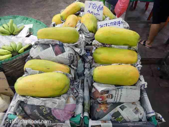 Reife Papayas
