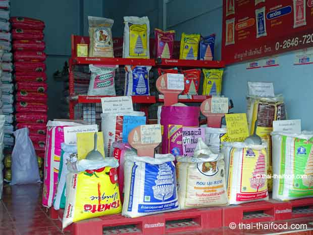 Reis kaufen in Thailand