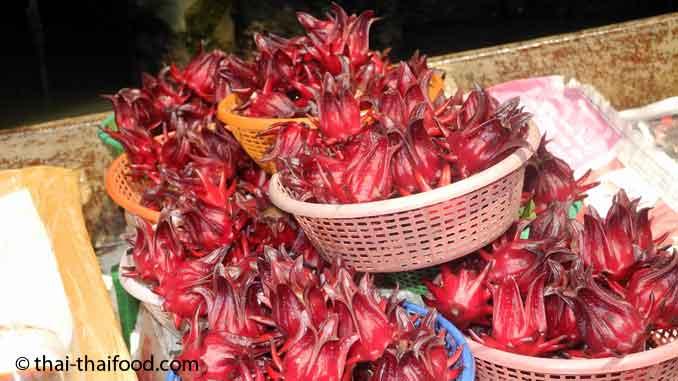 roselle-frucht