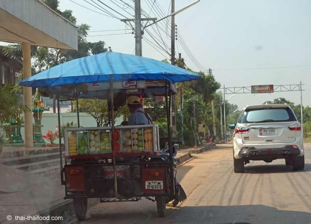 Obst Strassenverkauf Thailand