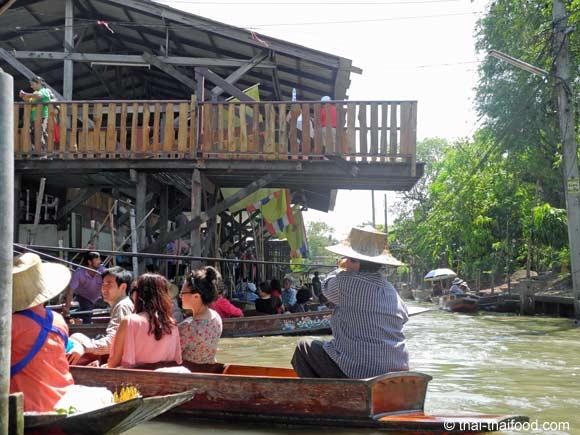 Boot mieten floating market
