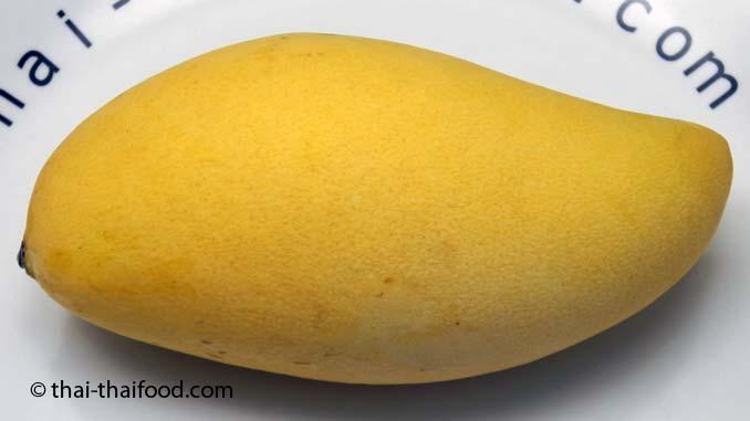 gelbe Mango